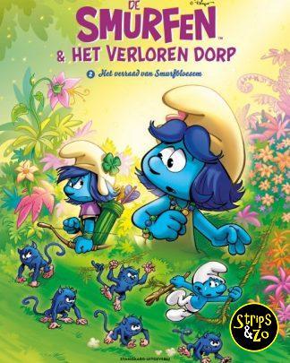 De Smurfen en het verloren dorp 2 het verraad van Smurfbloesem