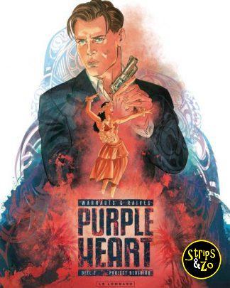 Purple Heart deel 2 project Bluebird