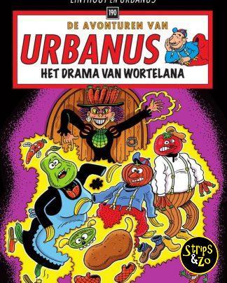 Urbanus 190 Het drama van Wortelana