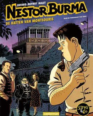 Nestor Burma 14 De ratten van Montsouris