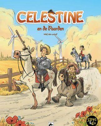 celestine en de paarden 7 Wat een wind!