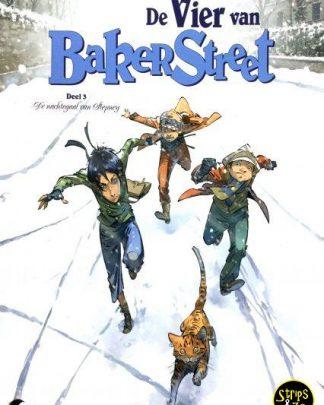 Vier van Baker Street 3 - De nachtegaal van Stepney