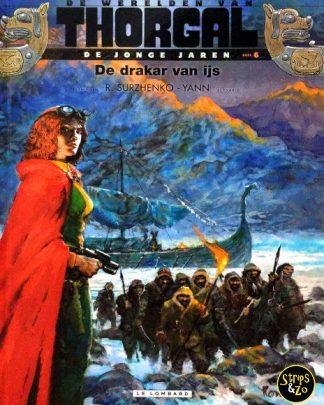 Thorgal, de werelden van - Jonge Jaren 6 - De drakar van ijs