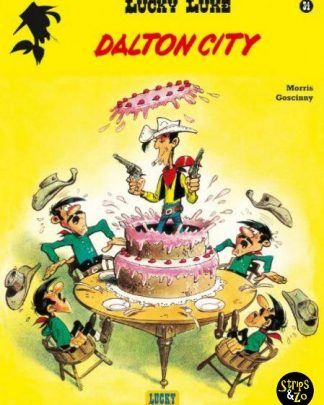 Lucky Luke 34 Dalton city