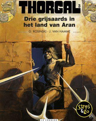 Thorgal 3 Drie grijsaards in het land van Aran