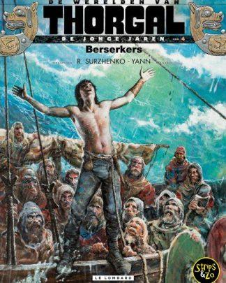 Thorgal, de werelden van - Jonge Jaren 4 - Berserkers