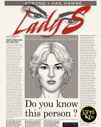 Lady S 9 – Voor het leven van een vrouw