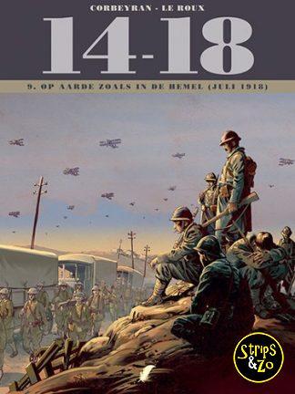 14-18 9 – Op aarde zoals in de hemel (juli 1918)