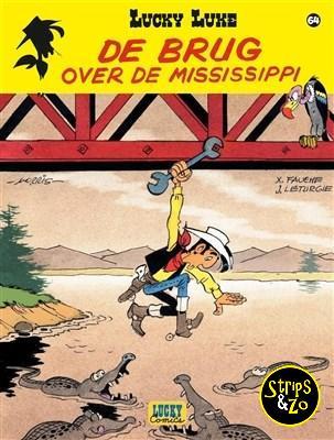 Lucky Luke 64 De brug over de Mississippi