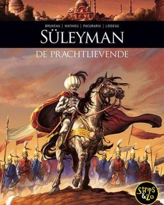 Zij schreven geschiedenis 8 Süleyman - De prachtlievende