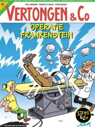 Vertongen & Co 25 – Operatie Frankenstein