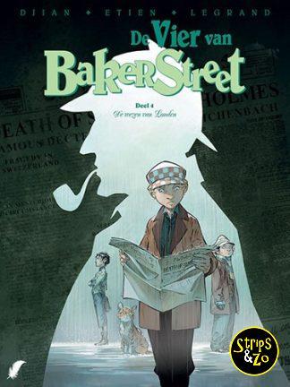 Vier van Baker Street, de 4 – De wezen van Londen