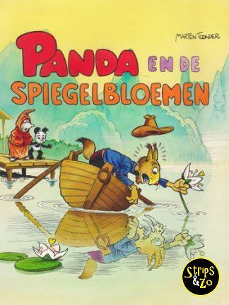 Panda HC (uitg. Cliché) – Panda en de spiegelbloemen