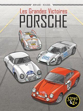 Plankgas SC 12 / De grote overwinningen – Porsche 1: 1952-1968