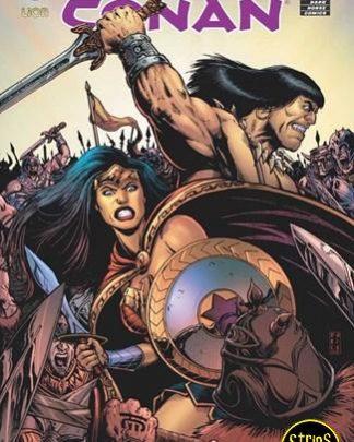 Wonder Woman & Conan - crossover