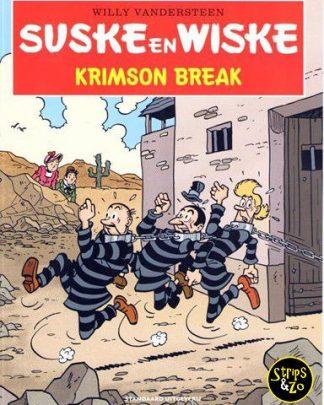 Suske en Wiske - in het kort 2 - Krimson Break