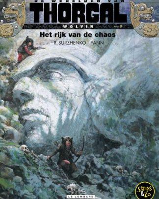 Thorgal, de werelden van - Wolvin 3 - Het rijk van de chaos
