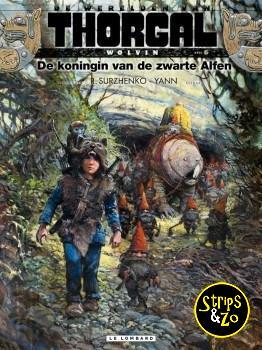 Thorgal, de werelden van - Wolvin 6 - De koningin van de zwarte Alfen