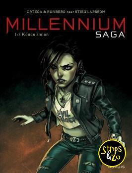 Millennium Saga 1/3 - Naar Stieg Larson - Koude Zielen