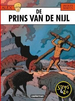 Alex 11 - De prins van de Nijl