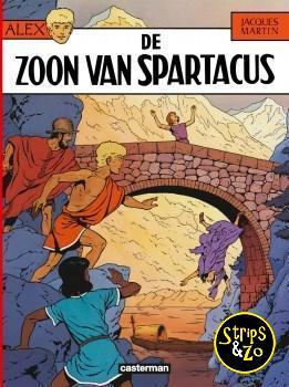 Alex 12 - De zoon van Spartacus