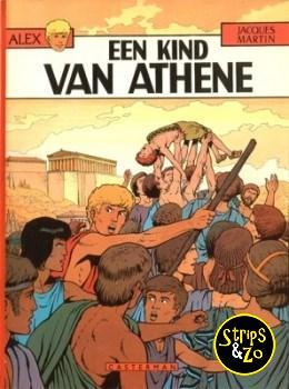 Alex 15 - Een kind van Athene