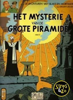 Blake en Mortimer 5 - Het mysterie van de grote piramide 2