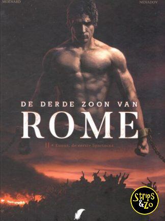 De derde zoon van Rome 2 – Eunous, de eerste Spartacus
