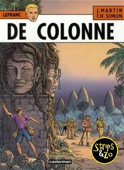 Lefranc 14 - De colonne