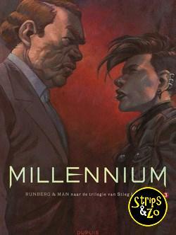 Millennium - Naar Stieg Larson 3 - De vrouw die met vuur speelde 1/2