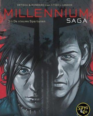 Millennium Saga 2/3 - Naar Stieg Larson - De nieuwe Spartanen