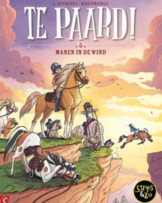 Te paard! 5 - Manen in de wind