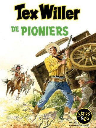 Tex Willer – Classics (Hum!) 11 – De pioniers