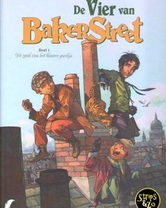 Vier van Baker Street 1 - De zaak van het blauwe gordijn