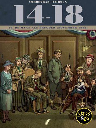 14-18 deel 10 – De maan als erfgoed (november 1918)