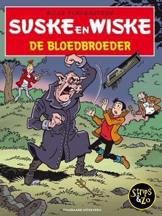 Suske en Wiske – in het kort 4 – De bloedbroeder