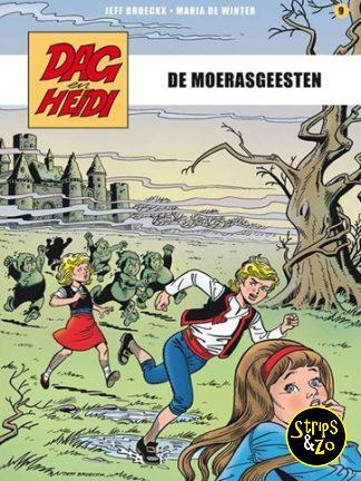 Dag en Heidi – Saga 9 – De moerasgeesten