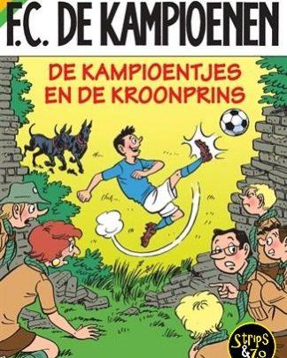 FC De Kampioenen 103 - De Kampioentjes en de Kroonprins