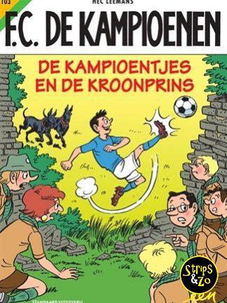 FC De Kampioenen 103 – De Kampioentjes en de Kroonprins