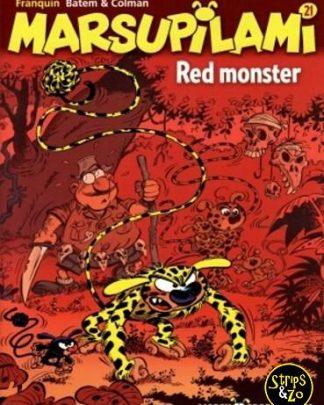 Marsupilami 21 - Red monster