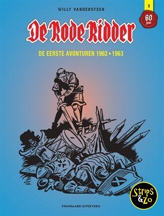 Rode Ridder – Integraal 3 – De eerste avonturen 1962 – 1963