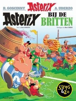 Asterix 8 - Asterix bij de Britten