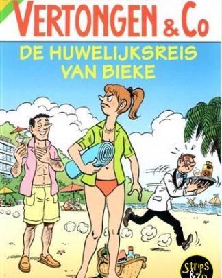 Vertongen & Co 28 - De huwelijksreis van Bieke