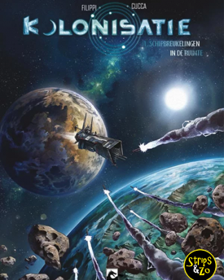 Kolonisatie 1 - Schipbreukelingen in de ruimte