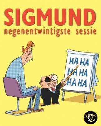 Sigmund 29 - Negenentwintigste sessie