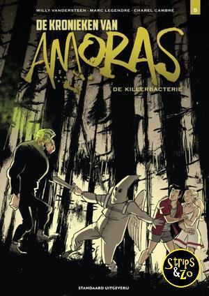 Kronieken van Amoras, de 5 - De Killerbacterie
