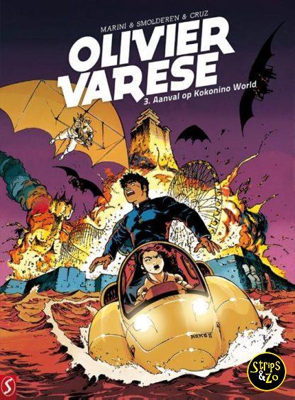 Olivier Varese 3: Aanval op Kokonino World