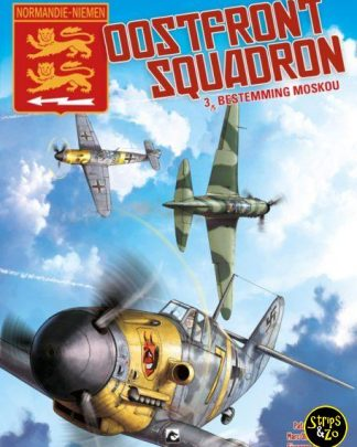 oostfront squadron 3 Bestemming Moskou