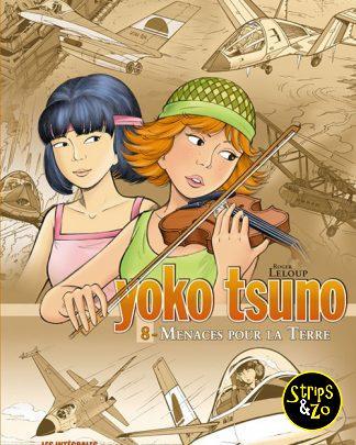 Yoko Tsuno integrale 8 Bedreigingen voor de Aarde
