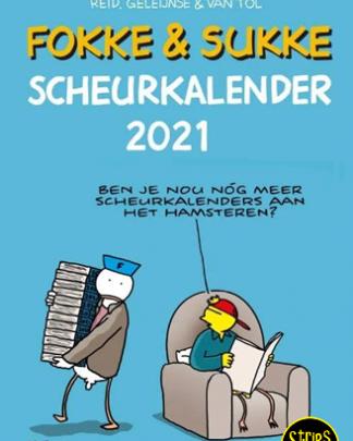 fokke en sukke scheurkalender 2021